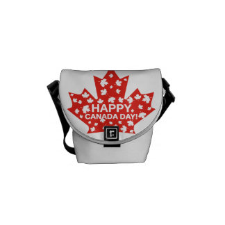 Canada Day Celebration Courier Bags