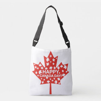 Canada Day Celebration Crossbody Bag