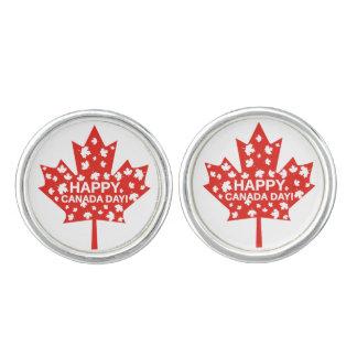 Canada Day Celebration Cuff Links