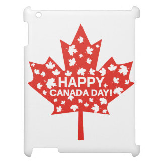 Canada Day Celebration iPad Cover