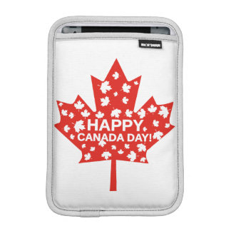 Canada Day Celebration iPad Mini Sleeve