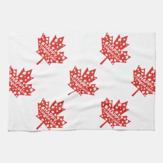 Canada Day Celebration Kitchen Towel