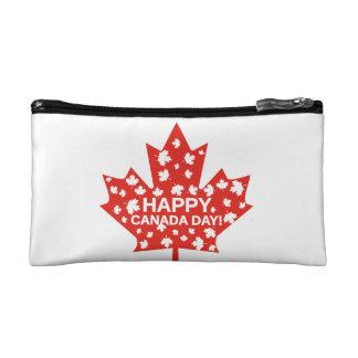 Canada Day Celebration Makeup Bag