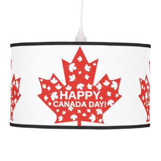 Canada Day Celebration Pendant Lamp