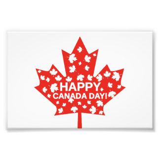 Canada Day Celebration Photo Print