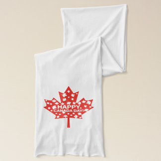 Canada Day Celebration Scarf