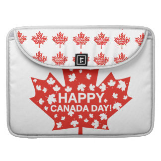 Canada Day Celebration Sleeve For MacBook Pro