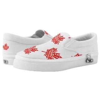Canada Day Celebration Slip-On Sneakers