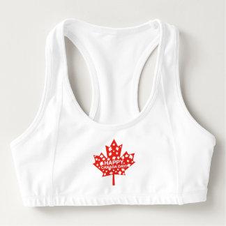 Canada Day Celebration Sports Bra