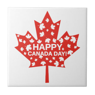 Canada Day Celebration Tile