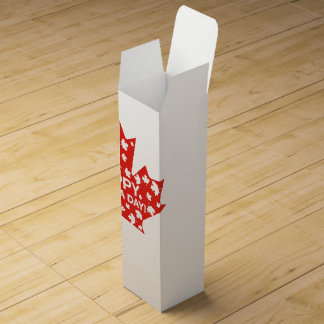 Canada Day Celebration Wine Box