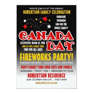Canada Day Family Celebration Invitation