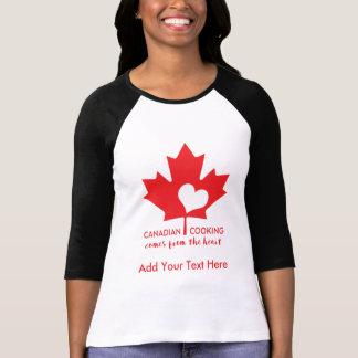 Canada Day Gourmet Tee Shirt