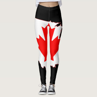 Canada Day Leggings