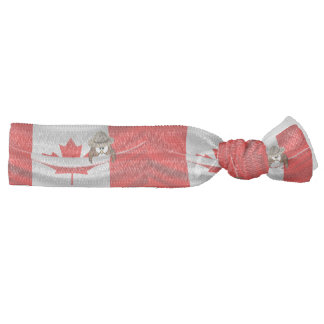 Canada Day owl Hair Tie