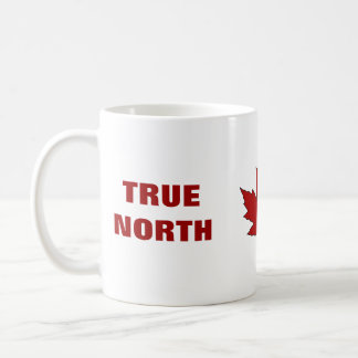 Canada Day Red Maple Leaf Anthem Coffee Mug