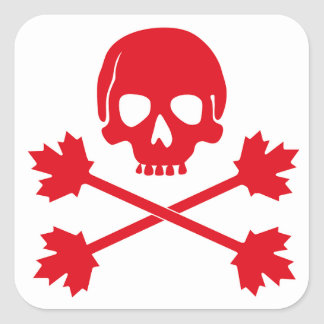 Canada Day Square Sticker