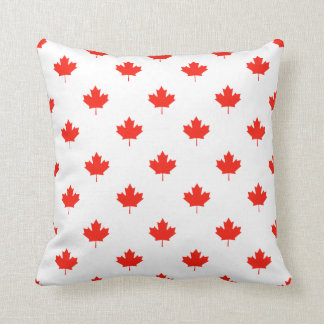 Canada Day Your Background Color Throw Pillow