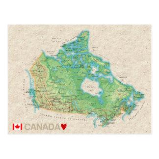 ♥ Canada de CARTES POSTALES de CARTE
