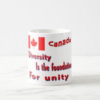 canada diversity mugs
