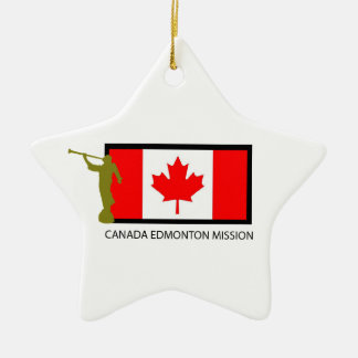 CANADA EDMONTON MISSION LDS CTR CERAMIC ORNAMENT