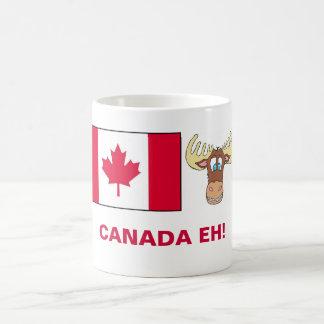 CANADA EH! CLASSIC WHITE COFFEE MUG