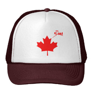 Canada Eh! Funny Canadian Pride Trucker Hat