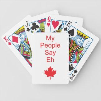 Canada eh poker deck