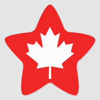 Canada Established 1867 150 Years Style Star Sticker