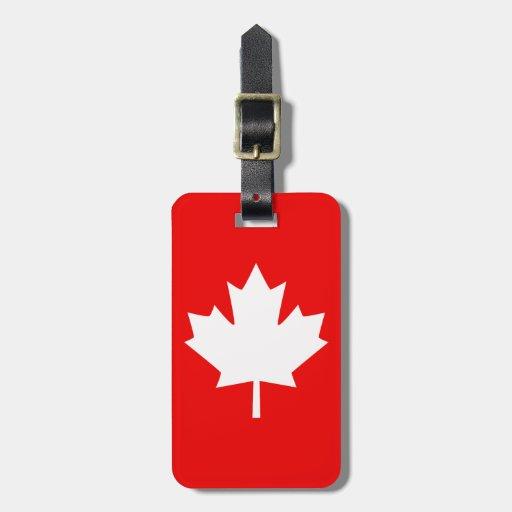 Canada Established 1867 Anniversary 150 Years Travel Bag Tags