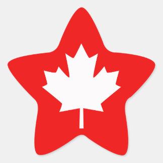 Canada Established 1867 Anniversary 150 Years Star Sticker