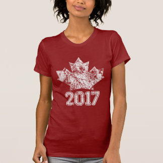 Canada Established 1867 Anniversary 150 Years T-Shirt