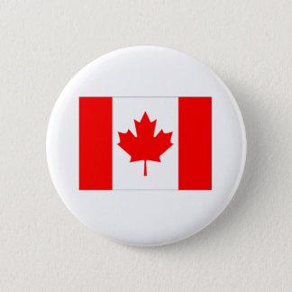 Canada Flag 2 Inch Round Button
