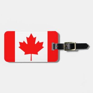 Canada Flag Bag Tag