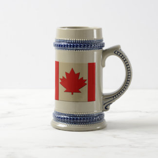 Canada Flag Beer Stein