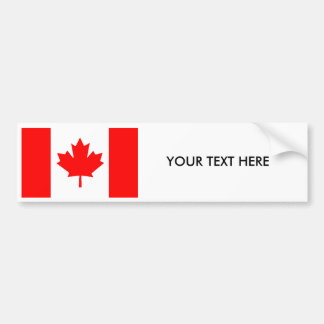 CANADA FLAG Bumper Sticker