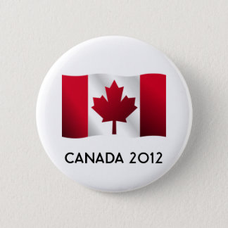 Canada Flag Button 2012