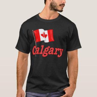 Canada Flag - Calgary T-Shirt