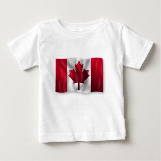 Canada Flag Canadian Country Emblem Leaf Maple Baby T-Shirt