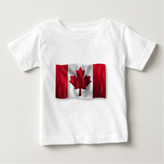 Canada Flag Canadian Country Emblem Leaf Maple Baby T-Shirt