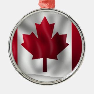 Canada Flag Canadian Country Emblem Leaf Maple Metal Ornament