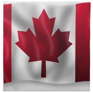Canada Flag Canadian Country Emblem Leaf Maple Napkin