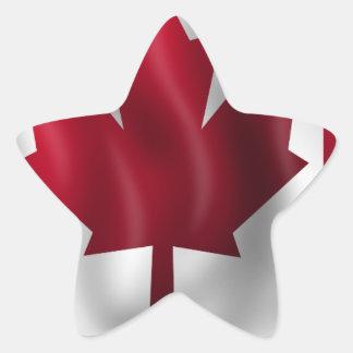 Canada Flag Canadian Country Emblem Leaf Maple Star Sticker