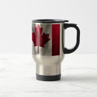 Canada Flag Canadian Country Emblem Leaf Maple Travel Mug