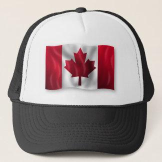 Canada Flag Canadian Country Emblem Leaf Maple Trucker Hat