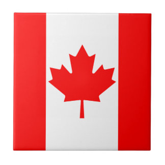 Canada Flag Ceramic Tile