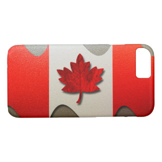 Canada Flag-Chrome by Shirley Taylor iPhone 8/7 Case