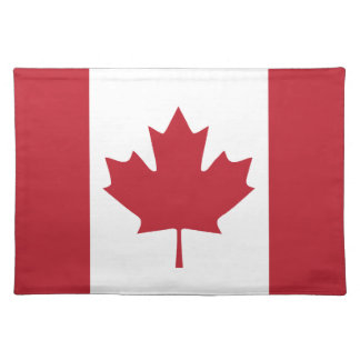 Canada Flag Cloth Placemat