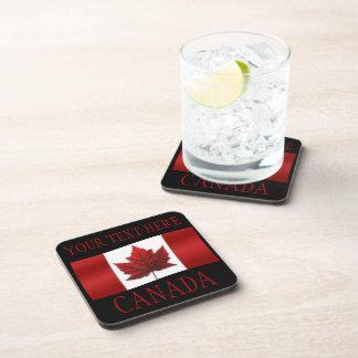 Canada Flag Coasters Custom Canada Coasters Gifts