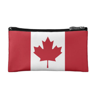 Canada Flag Cosmetic Bag